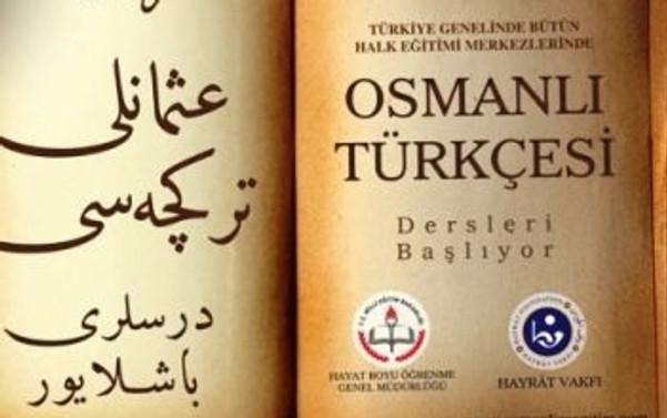 Osmanlı Türkçesi kursuna yoğun ilgi
