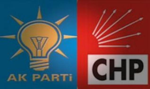 İzmir'de AKP ve CHP'liler arasında kavga