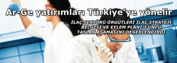 Ar-Ge yatırımları Türkiye'ye yönelir
