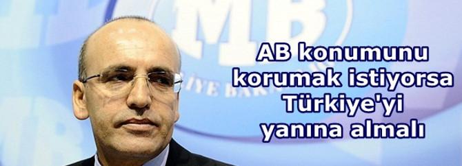 AB konumunu korumak istiyorsa Türkiye'yi yanına almalı