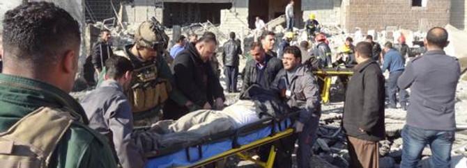 Tikrit'te intihar saldırısı 42 can aldı