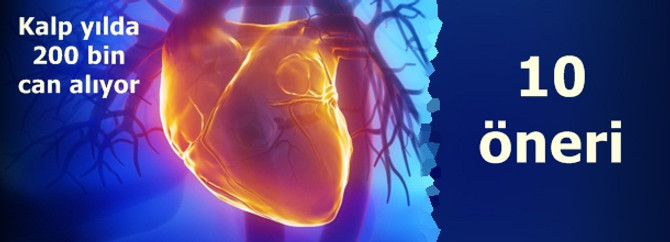 Türkiye'de yılda 200 bin kişi kalbine yeniliyor