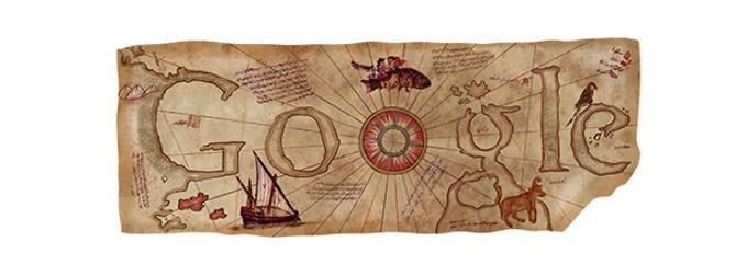 Google'dan Piri Reis'e özel logo