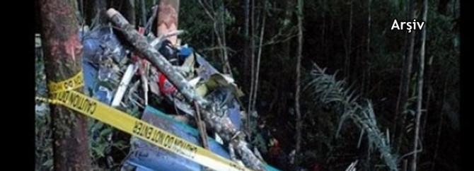 Sibirya'da Rus helikopteri düştü