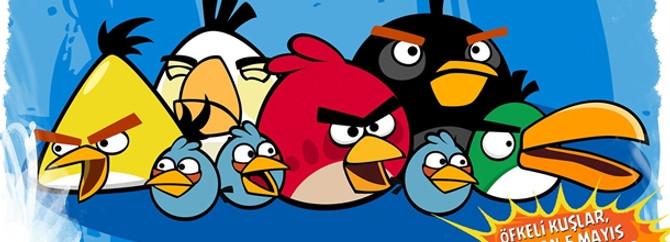 Dünyanın en popüler kuşları Angry Birds™ Marmara Forum'da