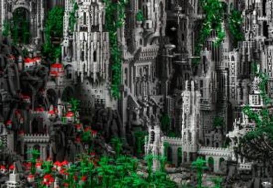 200 bin parça Lego'dan oluşacak