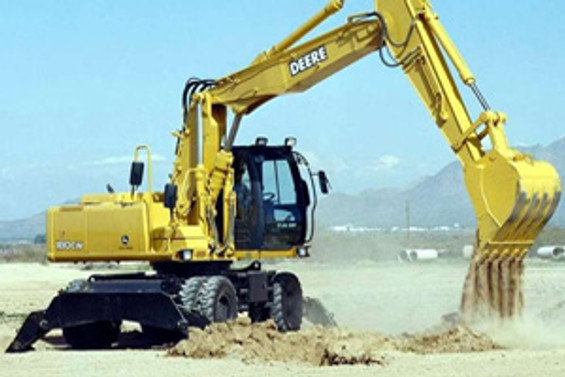 Silivri'de kazı çalışması