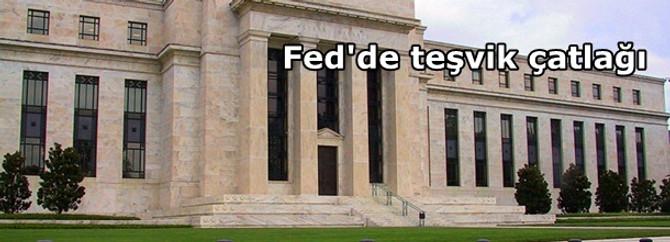 Fed'de teşvik çatlağı