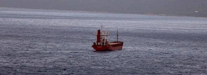 Yük gemileri çarpıştı