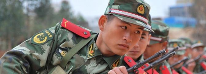 Çin'de askeri uçak düştü