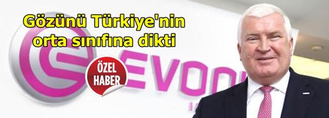 """""""Türkiye'nin genç ve tüketen orta sınıfı ilgimizi çekiyor"""""""