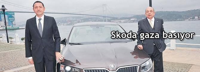 Skoda gaza basıyor