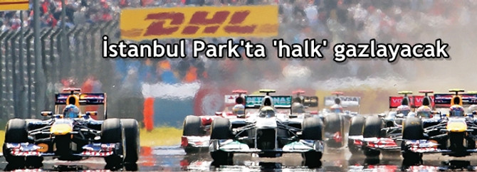 İstanbul Park'ta 'halk' gazlayacak