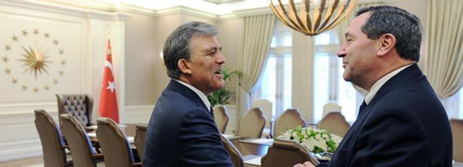 Cumhurbaşkanı Gül, ABD'li Senatör Donnelly'yi kabul etti