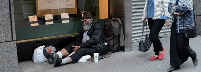 Gökdelenler şehri evsizlerle dolu