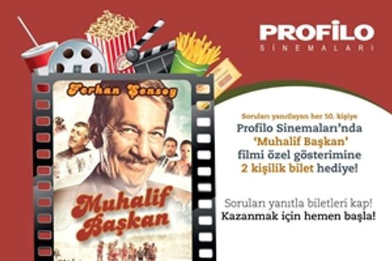 'Mualif Başkan' Profilo Sinemaları'nda ücretsiz