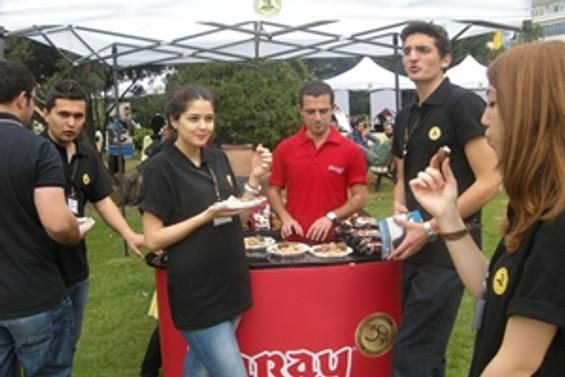 Üniversite öğrencilerine Saray lezzeti