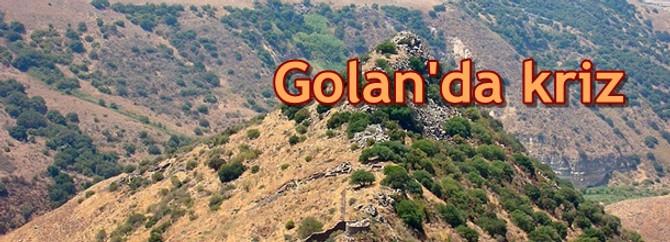 Golan'da kriz