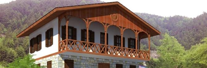 Köy evini yöresel mimariyle yapana destek