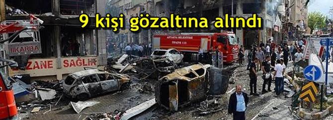 Reylanlı'daki patlamalarla ilgili 9 gözaltı