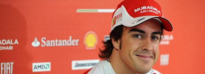 İspanya'da zafer Alonso'nun
