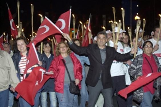 Beşiktaş'ta 19 Mayıs karnavalı!