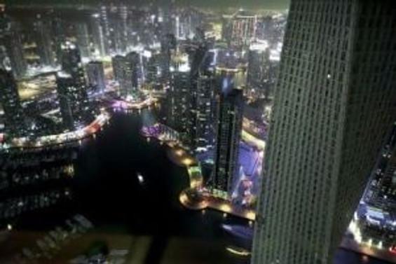 Dubai'ye tepeden bakış [VİDEO]