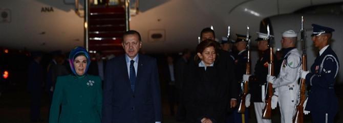 Erdoğan, ABD'ye geldi