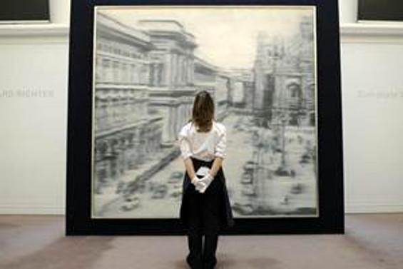 Richter'in eseri 37 milyon dolara satıldı