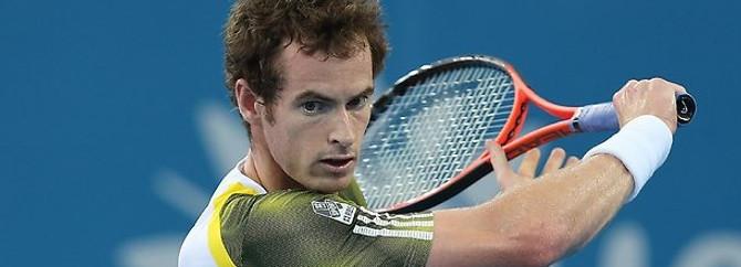 İtalya Açık Tenis Turnuvası'nda Andy Murray, sakatlandı