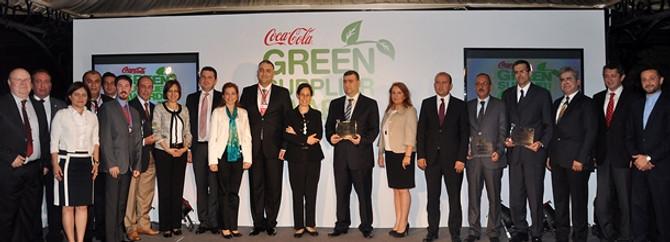 Coca-Cola, 'Yeşil Tedarikçi'lerini ödüllendirdi