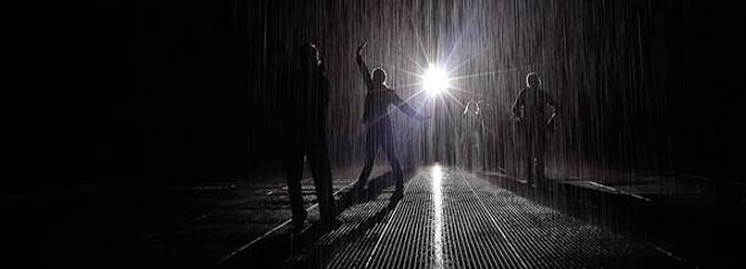 Modern sanatın son eseri: Islatmayan yağmur