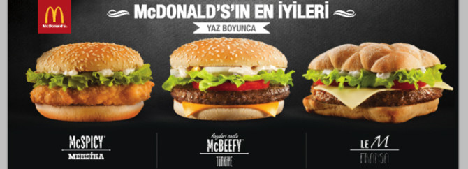 McDonald's'ın 'En İyileri' Türkiye'de