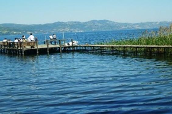 Yağışlar, Sapanca Gölü'nün su seviyesini artırdı
