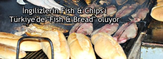 """İngilizlerin Fish & Chips'i Türkiye'de""""Fish & Bread"""" oluyor"""