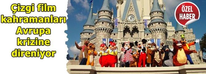 Euro Disney, Avrupa krizine direniyor