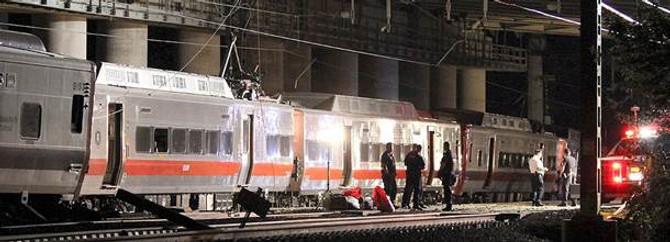 ABD'de iki tren çarpıştı