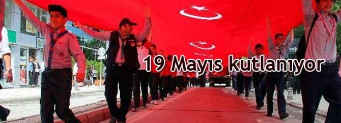 Atatürk'ü Anma, Gençlik ve Spor Bayramını kutluyoruz