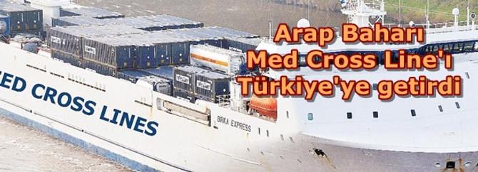 Arap Baharı Med Cross Line'ı Türkiye'ye getirdi