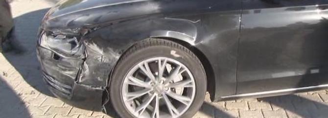 Kılıçdaroğlu'nun makam aracı kaza yaptı