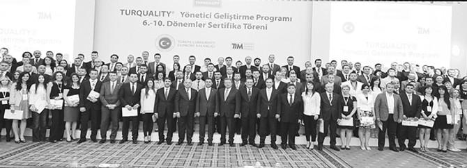 Türkiye'nin global marka adayları sertifikalı 635 profesyonele teslim