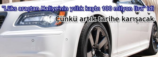 Lüks araçtaki ÖTV vurgunu tarihe karışıyor