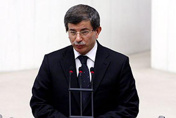 Ahmet Davutoğlu Şam'a gitti