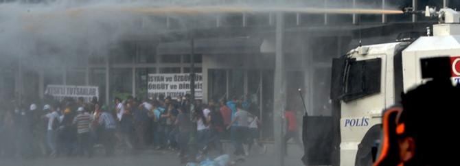Ankara'da müdahale var