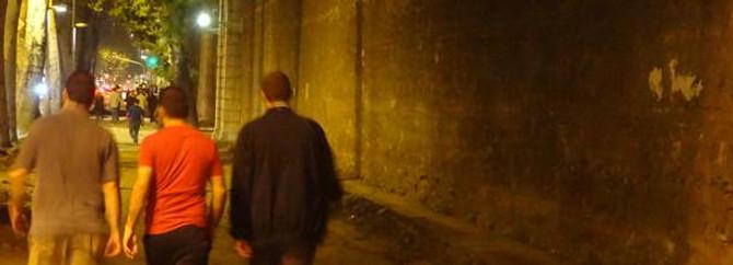 Gezi Parkı eylemcileri bir 'duvar'a dokunmadı