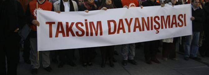 Taksim Dayanışma Platformu Meclis'te
