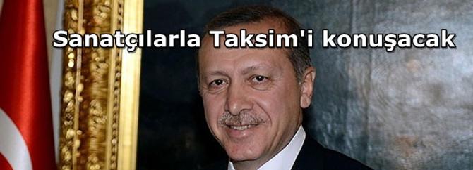 Erdoğan sanatçıları kabul edecek