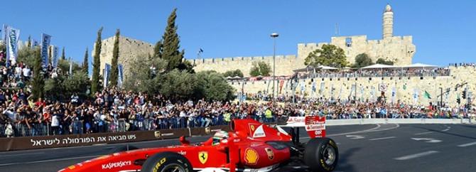F1 Kudüs'te