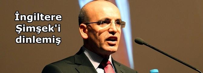 İngiltere, Maliye Bakanı Şimşek'i dinlemiş
