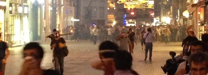 Taksim'de gözaltına alınan 27 kişi serbest